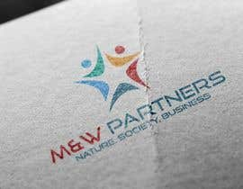 "Nro 31 kilpailuun Design a corporate logo,background,ppt template, icon for ""M&W partners"" käyttäjältä alishahsyed"