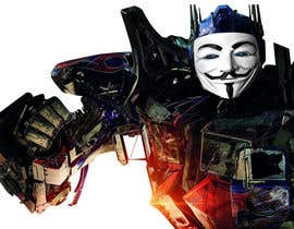 #1 for V FOR VENDETTA    VS    OPTIMUS PRIME af Gancov