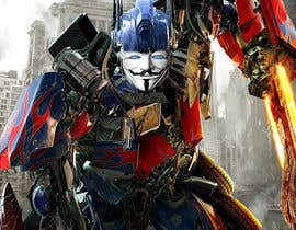 #2 cho V FOR VENDETTA    VS    OPTIMUS PRIME bởi Gancov