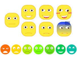 #35 for Design Seven Emoticons by DoctorRomchik