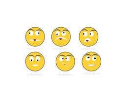 #28 for Design Seven Emoticons by jesminmoriom