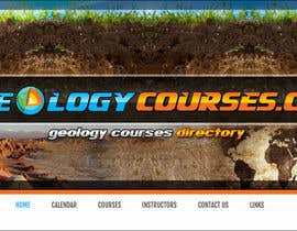 nº 13 pour Design a Banner for GeologyCourses.ca par mayerdesigns