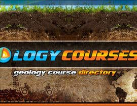 nº 17 pour Design a Banner for GeologyCourses.ca par mayerdesigns