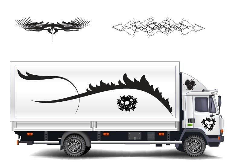 Contest Entry #1 for create some styling graphics for motor home horse box ect