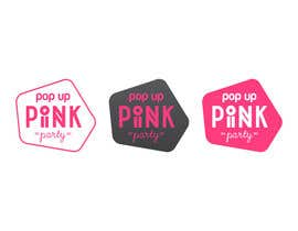 #53 untuk Design a Logo for PINK pop up Party oleh lunacyart