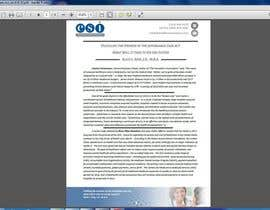 #32 for Design a Whitepaper layout in Microsoft Word format af AhmedTarek03