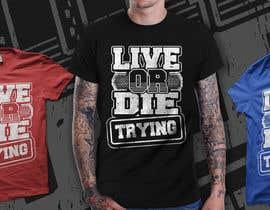 #47 untuk Design a T-Shirt print oleh richisd