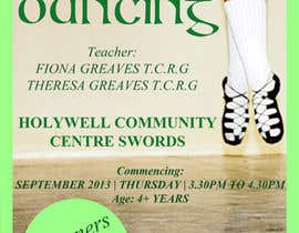 #27 untuk Design a Flyer for new Irish Dancing school oleh Dewtwo