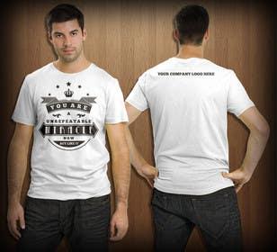 #28 untuk Design a T-Shirt for Company oleh adrianusdenny