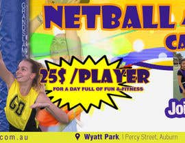 #25 for Design a Banner for Netball Carnival by adidoank123