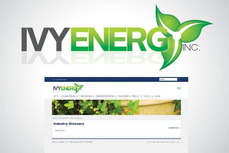 Penyertaan Peraduan #204 untuk Logo Design for Ivy Energy
