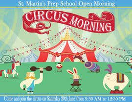 deeadum tarafından Design a Flyer for circus open morning için no 12