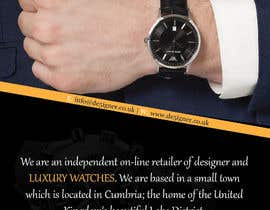 #33 for Design a Flyer for a luxury watch store by manjegraphics