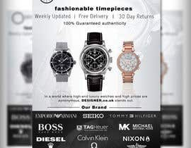 #31 for Design a Flyer for a luxury watch store by adidoank123