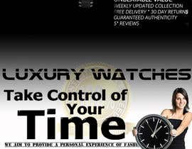#22 for Design a Flyer for a luxury watch store by vladimirmacura