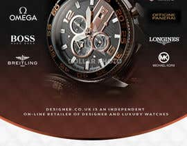 #17 for Design a Flyer for a luxury watch store by silvi86