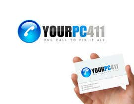 "#65 untuk Design a Logo for ""Your PC 411"" oleh GraphXFeature"