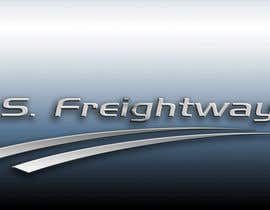 #210 para Logo Design for U.S. Freightways, Inc. por alfonxo23