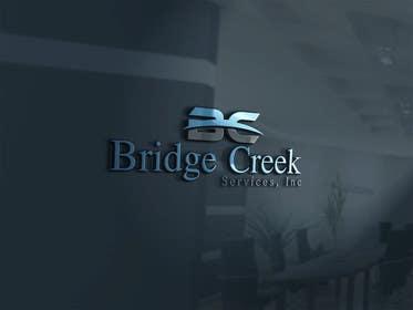 Nro 90 kilpailuun Bridge Creek Services Logo käyttäjältä samee1224