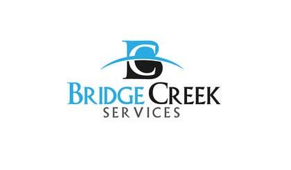 Nro 224 kilpailuun Bridge Creek Services Logo käyttäjältä rraja14