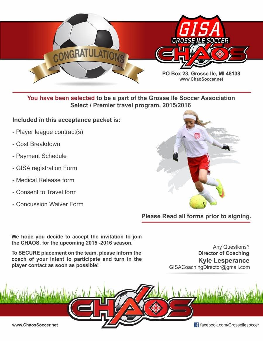 Konkurrenceindlæg #2 for Edit a Flyer for Soccer Tryout