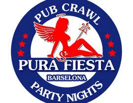 #24 para Design a Logo for Pub crawl, group party por RostykG
