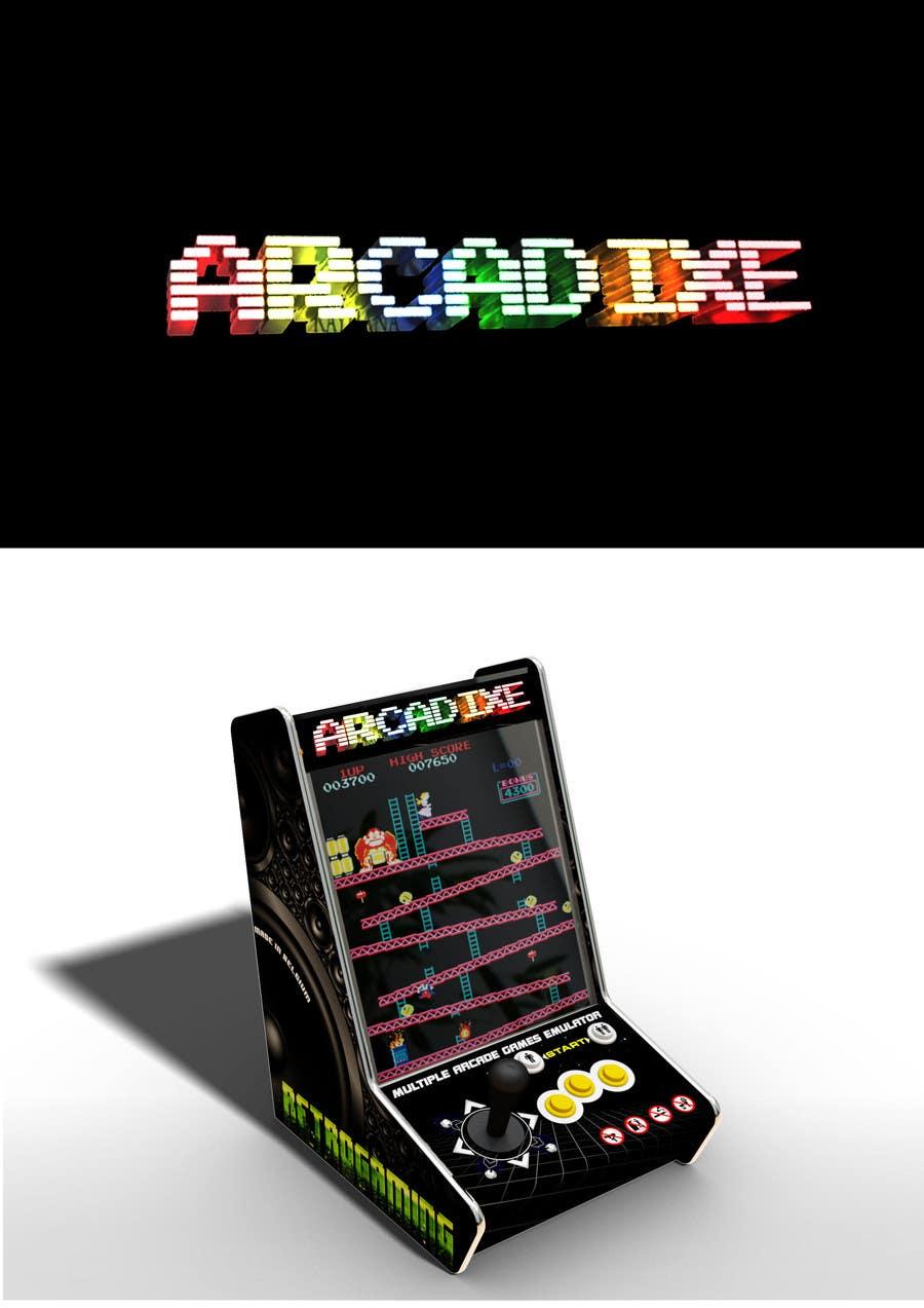 Proposition n°40 du concours LOGO pour jeux vidéo des années 80 (borne d'arcade)