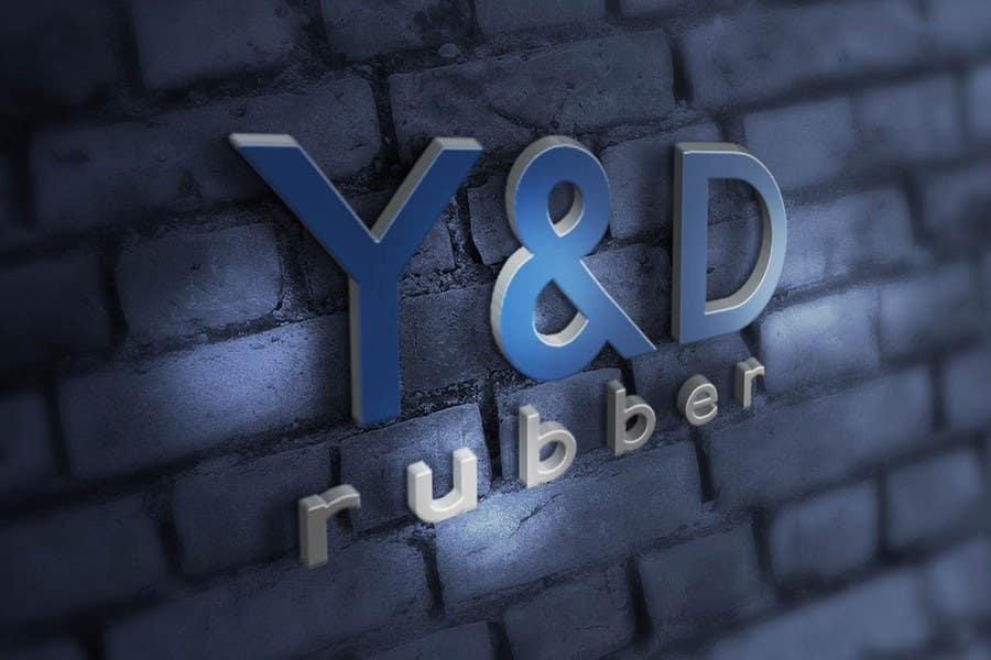 Penyertaan Peraduan #32 untuk Design a Logo for yd rubber