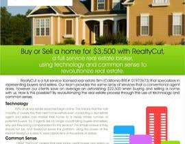 #26 for Design an Advertisement for RealtyCut af creazinedesign