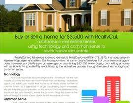 Nro 26 kilpailuun Design an Advertisement for RealtyCut käyttäjältä creazinedesign