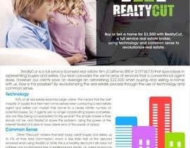 Nro 29 kilpailuun Design an Advertisement for RealtyCut käyttäjältä creazinedesign