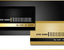 #7 para Design a Business Cards for us por gabymelove