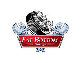 Nro 23 kilpailuun Design a Logo for Fat Bottom Garage käyttäjältä lenssens
