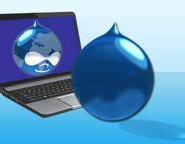#9 para Design a Logo for Drupal Project [One] por bvsk3003