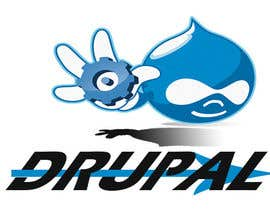 nº 6 pour Design a Logo for Drupal Project [One] par anggaquethels
