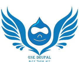 nº 17 pour Design a Logo for Drupal Project [One] par muralivilla