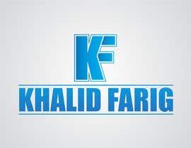 aryan232 tarafından Design a Logo for my name khalid farig için no 25