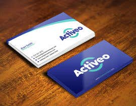 #161 untuk Design some Business Cards for Activeo oleh gohardecent