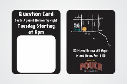 #1 for Design a Flyer for Cards Against Humanity Night at a Restaurant af artworker512