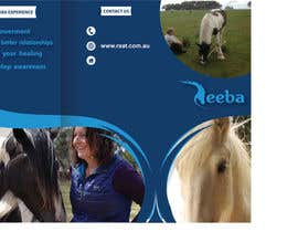 #3 para Brochure for Horse therapy company por OwlDoit