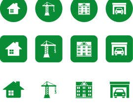 #30 cho Design icons / pictograms (real estate) bởi Rendra5