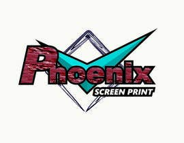 #13 for Design a Logo for Phoenix Screen Printing af ALEJVNDRO