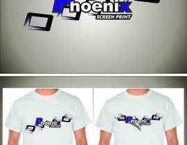 #20 for Design a Logo for Phoenix Screen Printing af ALEJVNDRO