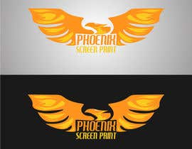 #44 for Design a Logo for Phoenix Screen Printing af rijulg