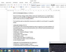 atanunu tarafından Upgrade an existing joomla website için no 9