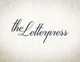 Nro 28 kilpailuun The Letterpress käyttäjältä julianbp