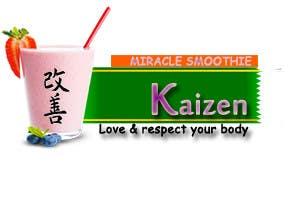 Penyertaan Peraduan #13 untuk Design a Logo for Kaizen Miracle Smoothie