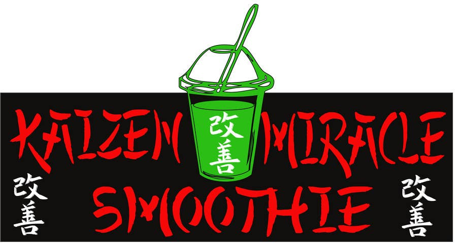 Penyertaan Peraduan #12 untuk Design a Logo for Kaizen Miracle Smoothie