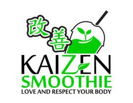 #7 para Design a Logo for Kaizen Miracle Smoothie por mrcom886