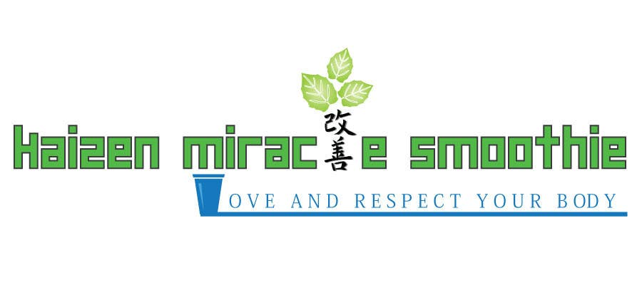 Penyertaan Peraduan #18 untuk Design a Logo for Kaizen Miracle Smoothie